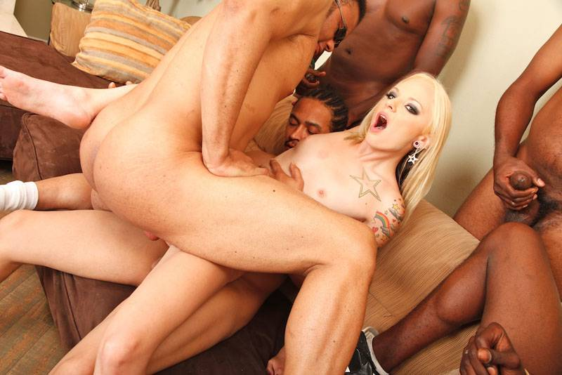 Lucy thai biggest gangbang