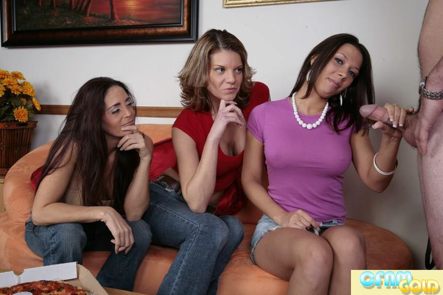 handjob by clothed women