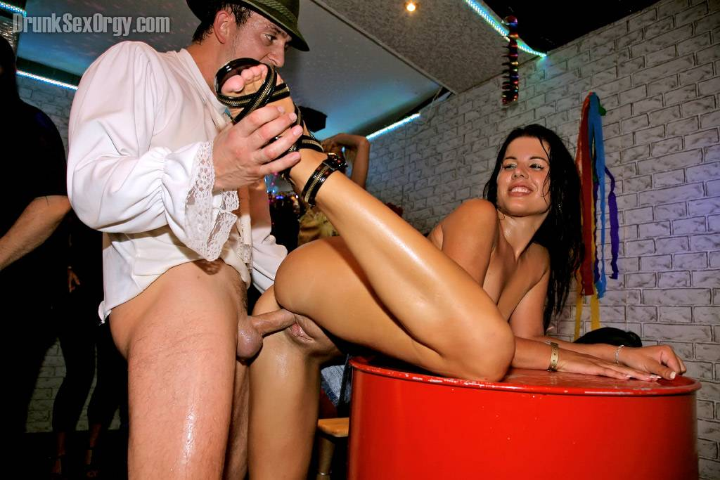 Nice european drunken orgies