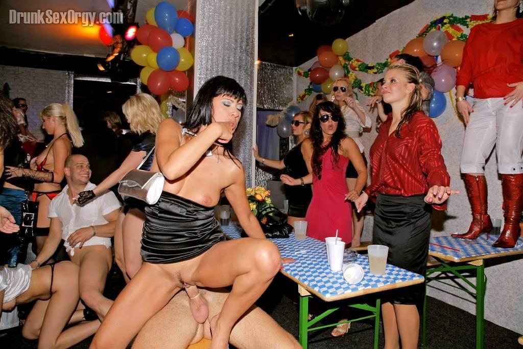 Drunken sex parties europe